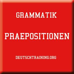 Praepositionen Deutsche Grammatik