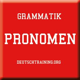 Grammatik-Pronomen