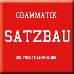 Grammatik-Satzbau