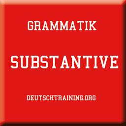 Deutsche Grammatik Substantive