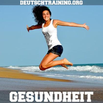 Deutschkurs Gesundheit