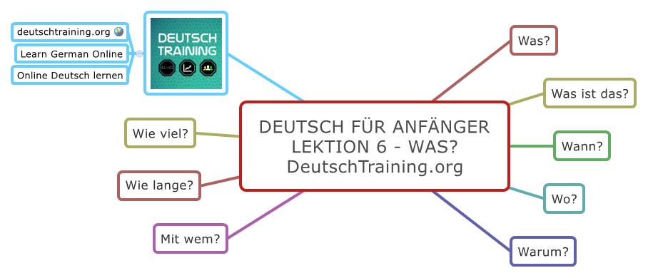 Deutsch für Anfänger Was?