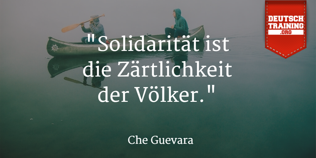 Zitat Solidarität